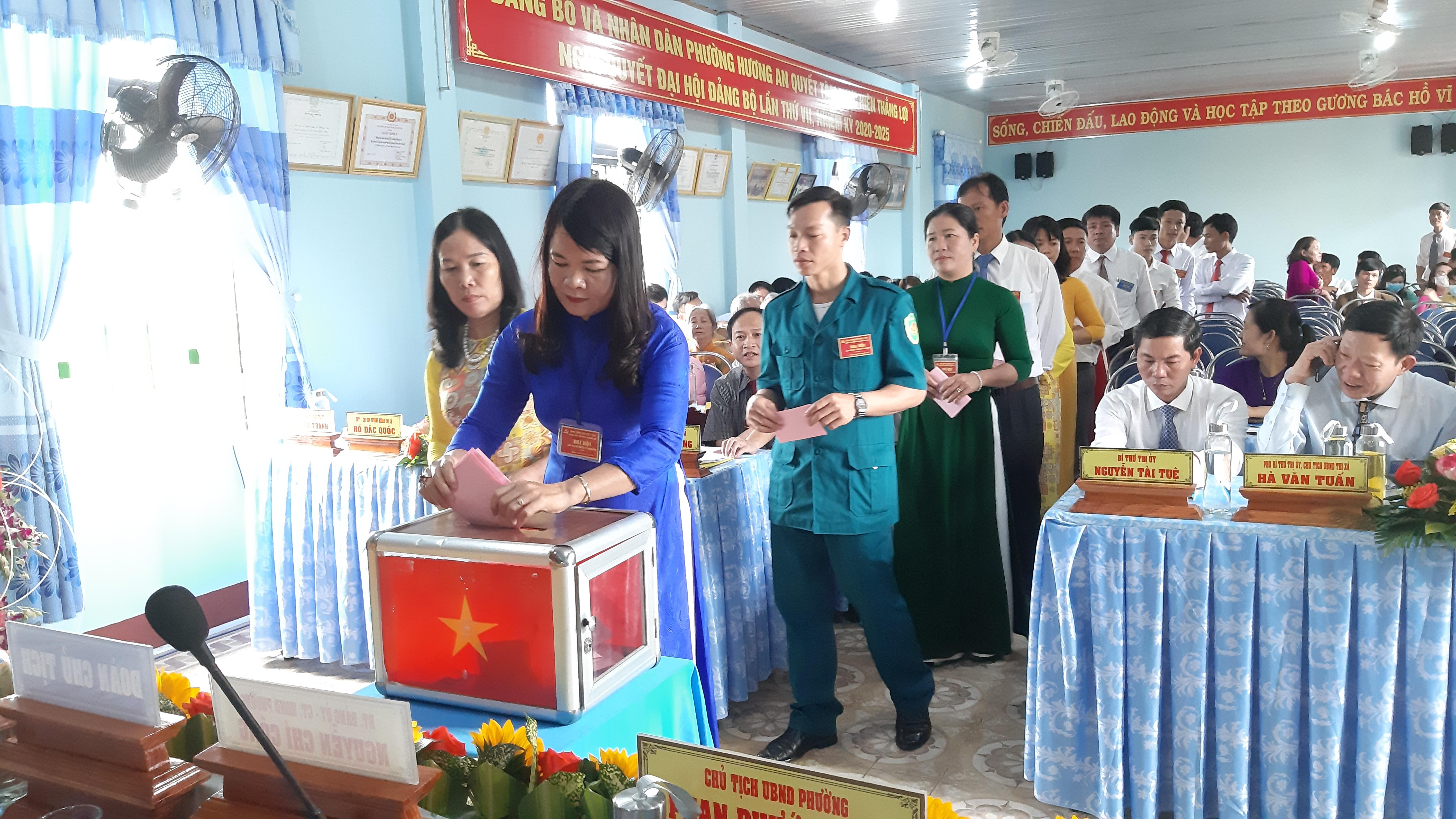 Đảng bộ phường Hương An phấn đấu sớm hoàn thành mục tiêu phường văn minh đô thị.
