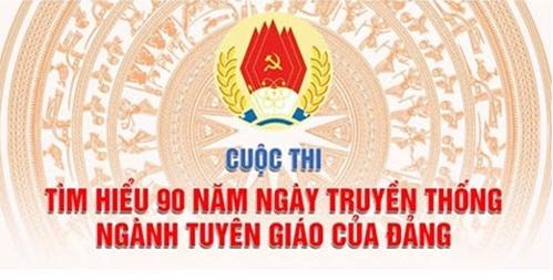 Ban Tuyên giáo Trung ương tổ chức Cuộc thi tìm hiểu 90 năm truyền thống ngành Tuyên giáo trên mạng VCNET