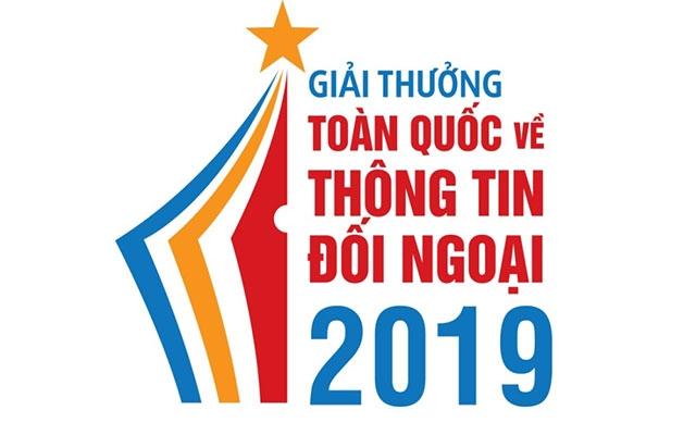 Thông báo Giải thưởng toàn quốc về thông tin đối ngoại năm 2019
