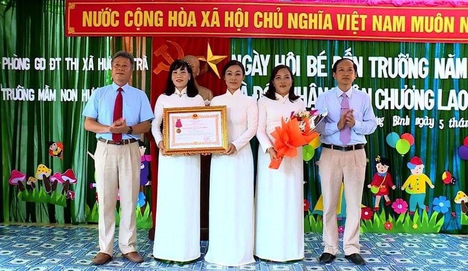Chi bộ trường Mầm non Hương Bình - gương điển hình trong học tập và làm theo tư tưởng, đạo đức, phong cách Hồ Chí Minh