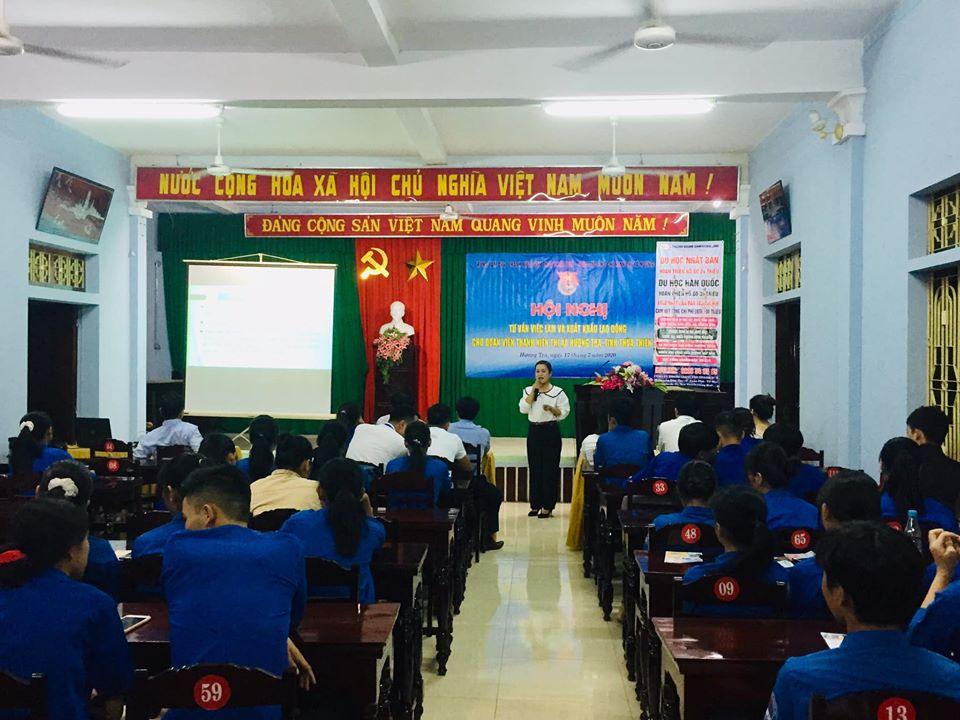 Hội nghị tư vấn việc làm và xuất khẩu lao động