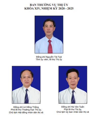 Ban Thường vụ Thị ủy Khóa XIV, nhiệm kỳ 2020-2025