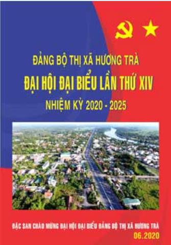 Đặc san chào mừng Đại hội Đảng bộ Thị xã lần thứ XIV