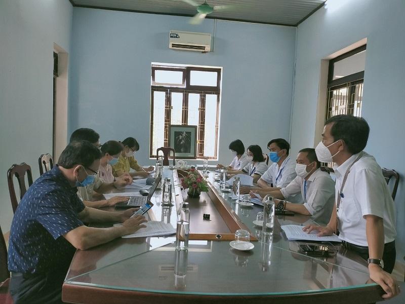 Sở Y tế Thừa Thiên Huế kiểm tra công tác phòng, chống dịch COVID-19 tại TTYT thị xã Hương Trà