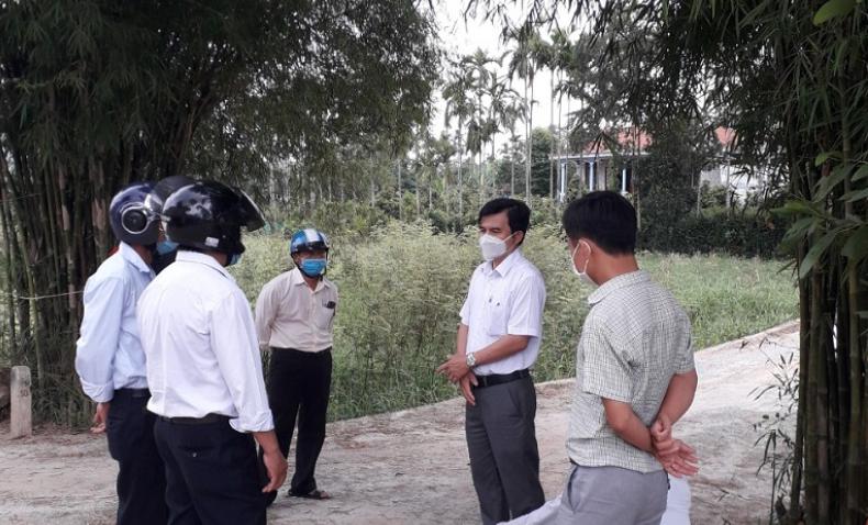 Ban chỉ đạo PCD kiểm tra công tác chủ động phòng, chống dịch COVID-19 tại các xã, phường
