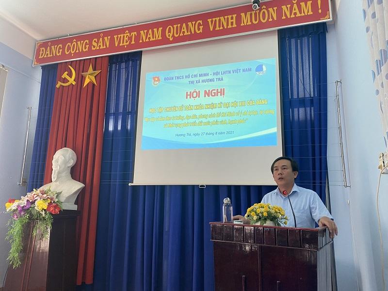 Tổ chức Hội nghị Học tập, quán triệt Nghị quyết Đại hội Đảng các cấp nhiệm kỳ 2020 – 2025 và học tập chuyên đề toàn khóa Đại hội XIII của Đảng.
